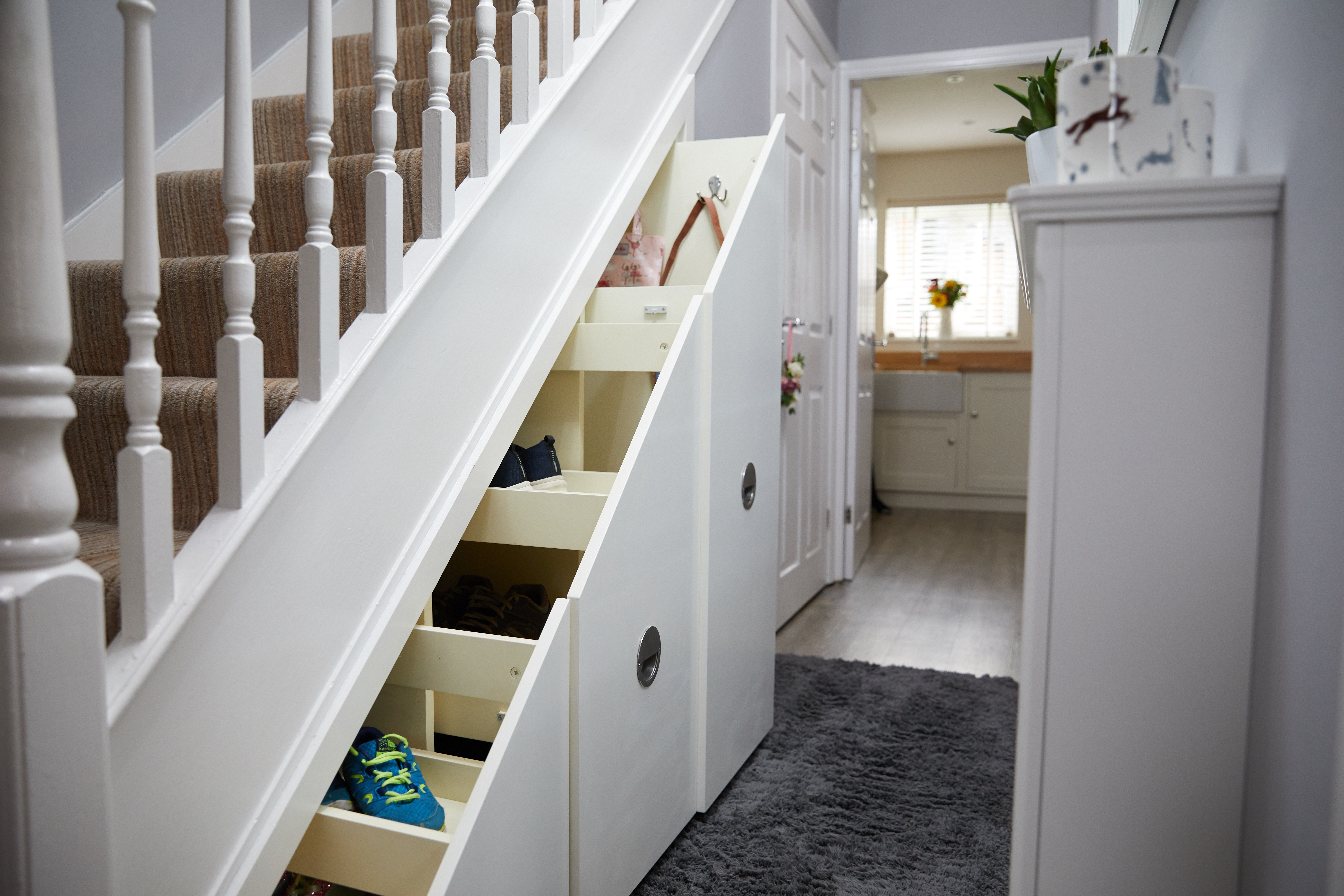 Under Stairs Storage Cheshire By Kingston Cabinetry