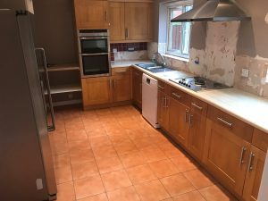 Shaker Style Kitchen - Before